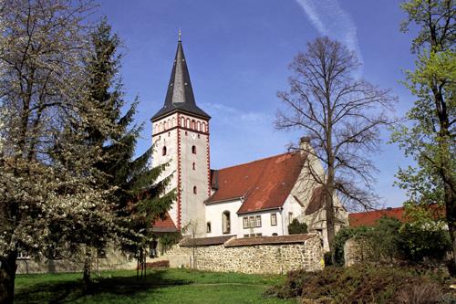 Die Kirche von Kodersdorf